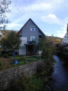 Wohnhaus am Fluss, Nagold
